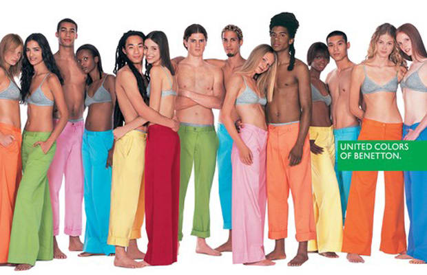 Benetton the 90 greatest 39 90s fashion trends complex for Benetton we are colors