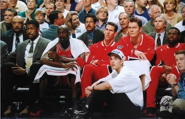 A Former Jazz Ball Boy Explains How Apple Sauce Helped Him Score Michael Jordan's Sneakers After ...