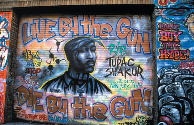 40 dope rap murals complex for Definition mural