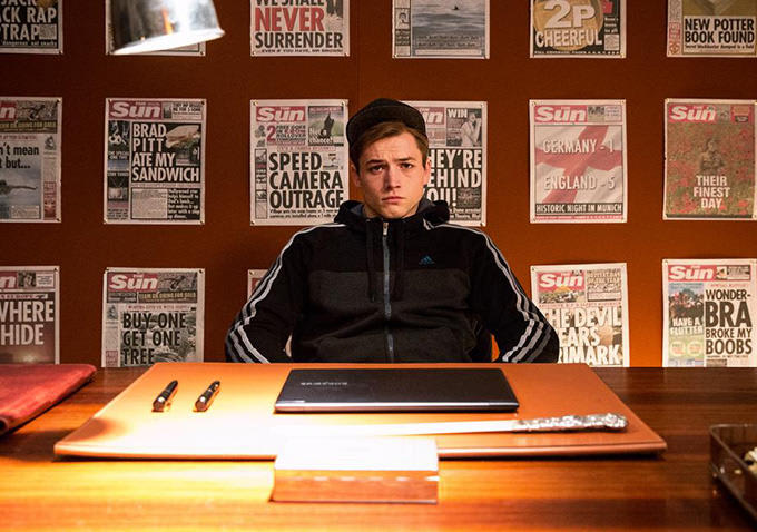Kingsman The Secret Service Interview Taron Egerton: Interview: 'Kingsman: The Secret Service' Star Taron