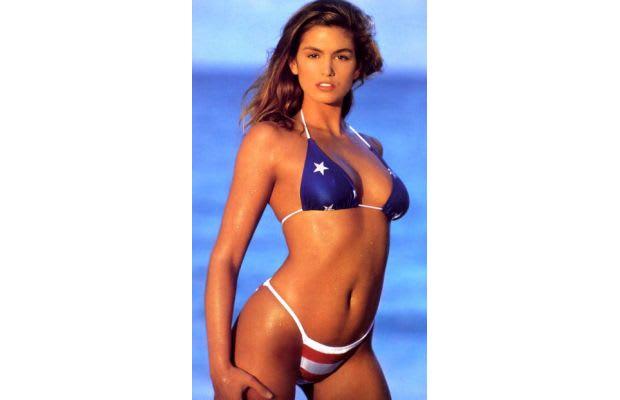 7. Cindy Crawford's American Flag Bikini - The 50 Hottest ...