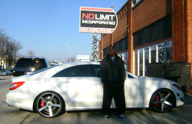 ... 2012 Mercedes-Benz CLS63 AMG - 32 NFL Players and Their Cars | Complex