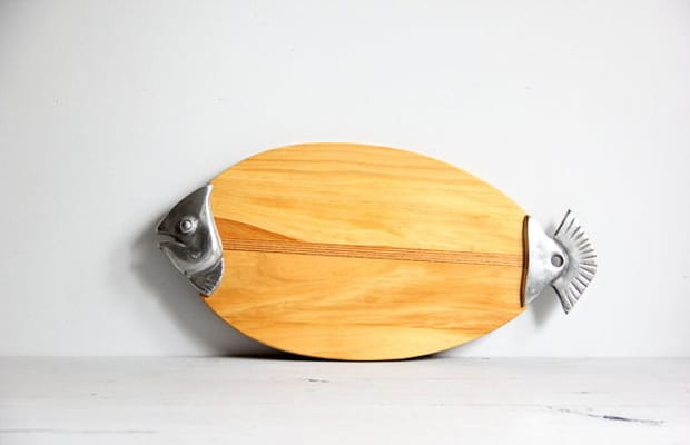 Fish cutting board the 10 best finds on etsy this week for Fish cutting board