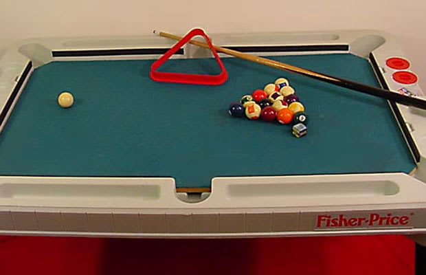 Fisher Price 3 In 1 Pool Table Ping Pong Air Hockey