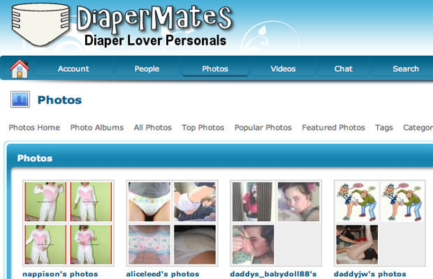 Free diaper dating sites