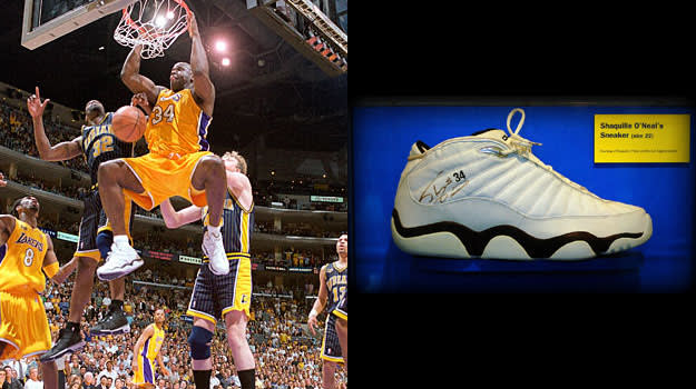 Shaquille O'Neal in the Dunk.Net chromz