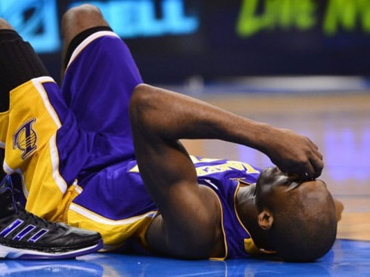 Getting reinjured doesn't help at all. - 10 Reasons Why ... Kobe Bryant Injury