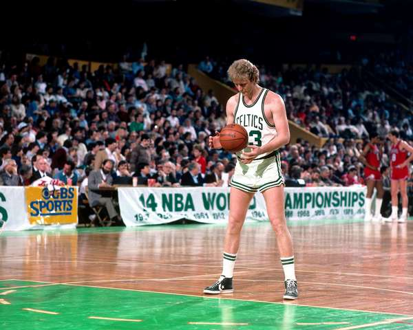 Larry Bird - 20 White NBA Players With Insane Sneaker ...