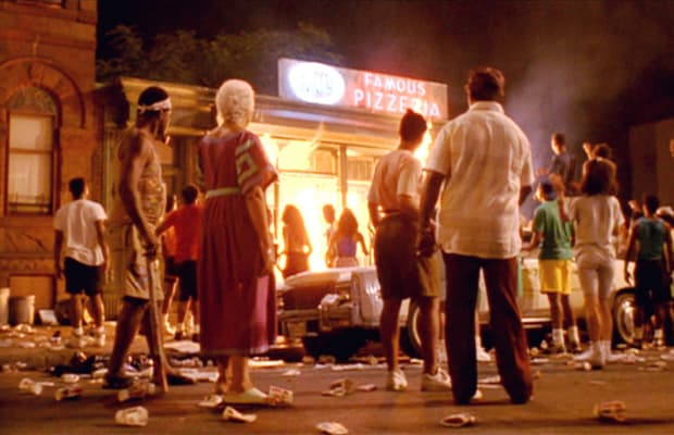 The reality of the melting pot in do the right thing by spike lee