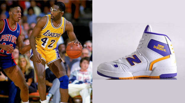 James Worthy in the New Balance P790