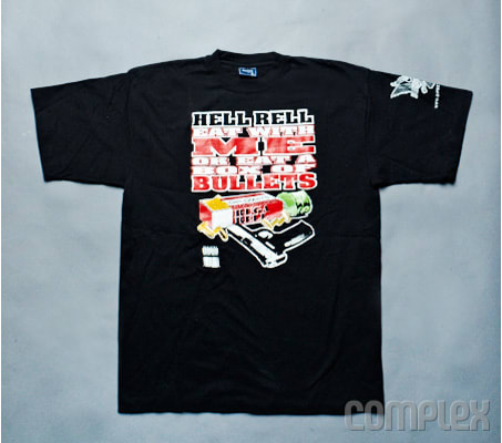 Hell Rell 2007 50 Awesome Rap Promo Shirts You Wish