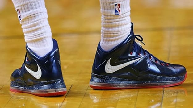 Nike Lebron X Hoops for Troops PE