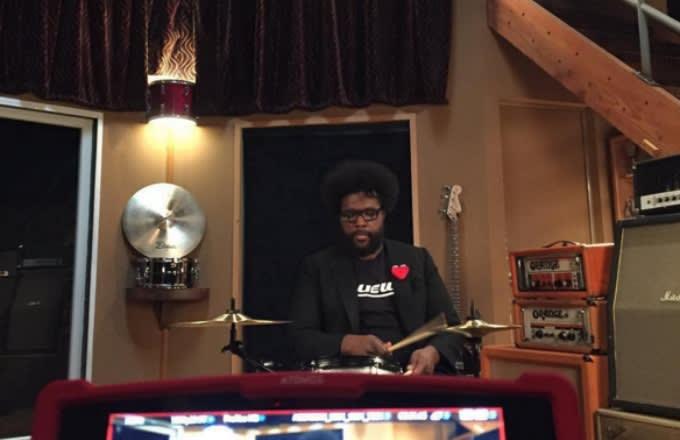questlove-instagram-selfie-playing-drums