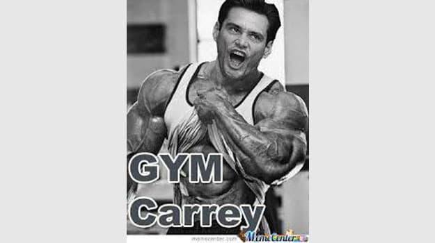 gym carrey meme