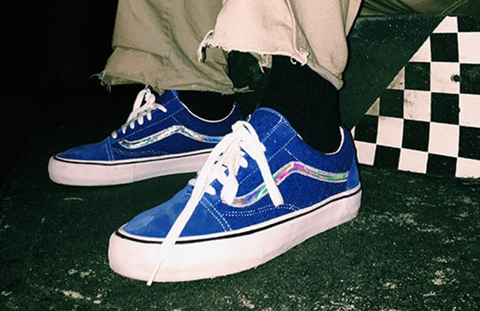 Vans Old Skool X Supreme
