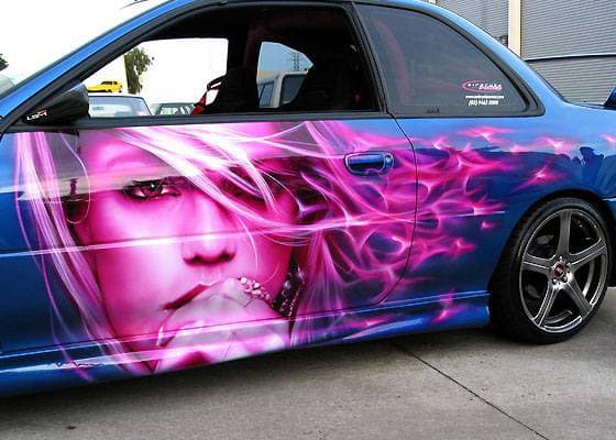Airbrush 8 - 25 Crazy Airbrushed Art Cars | Complex  Airbrush 8 - 25...