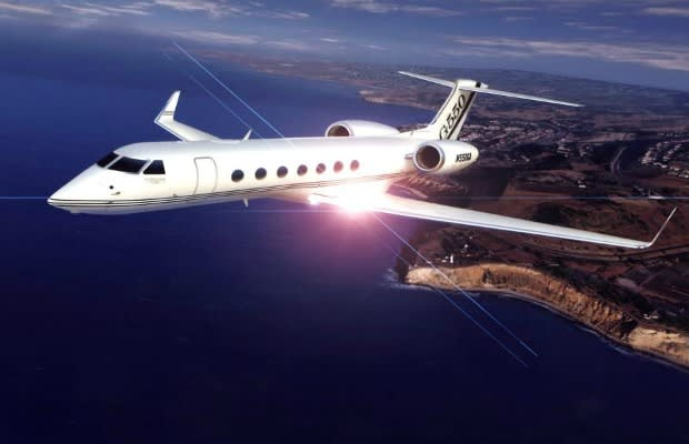 10 Outrageous Celebrity Owned Private Jets | BragCity.com