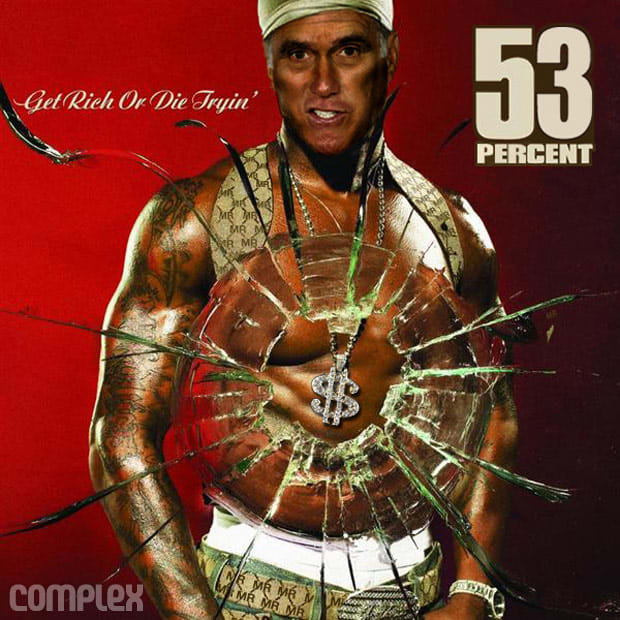 get rich or die tryin 39 photoshopped propaganda 21 classic rap album covers starring american. Black Bedroom Furniture Sets. Home Design Ideas