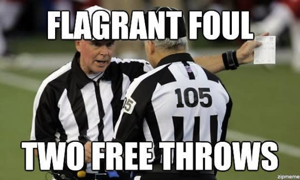 meet the replacement referees green