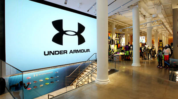 New Under Armour Store 583 Broadway SoHo, New York