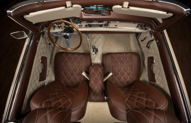 mercedes w112 gentle pagoda the 50 most outrageous custom car interiors complex. Black Bedroom Furniture Sets. Home Design Ideas
