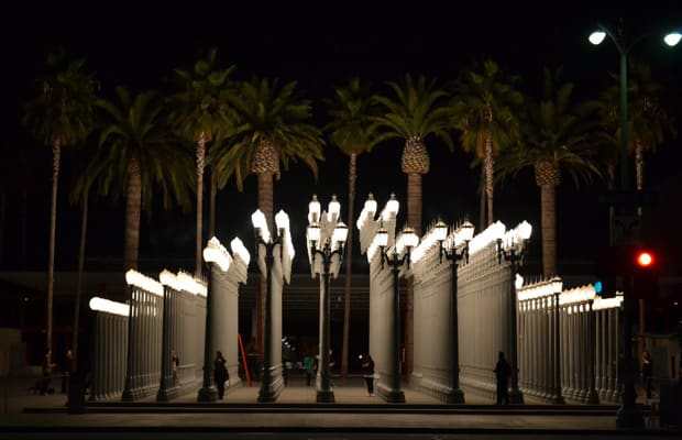 "18 Chris Burden ""Urban Light "" 2008 The 50 Most Iconic"