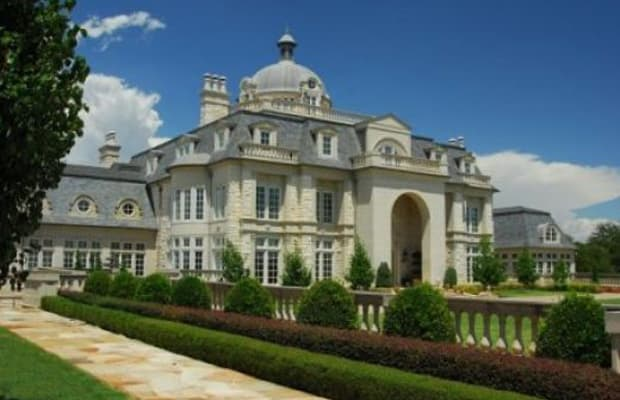 Champ d 39 or the 25 largest homes in the united states for Largest houses in the us