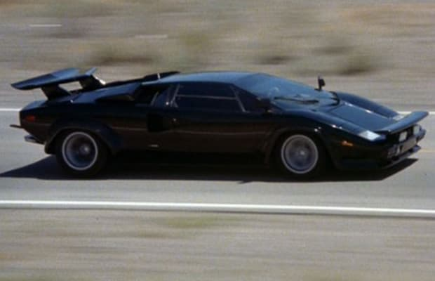 the cannonball run 1980 lamborghini countach lp 400s the 50 coolest movie cars complex. Black Bedroom Furniture Sets. Home Design Ideas