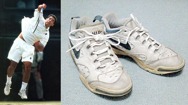 Pete Sampras in the Nike Air Max2 Sweeps