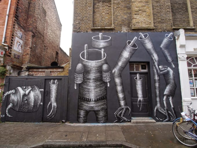 Phlegm the best street art from october 2014 complex for Lil yachty mural