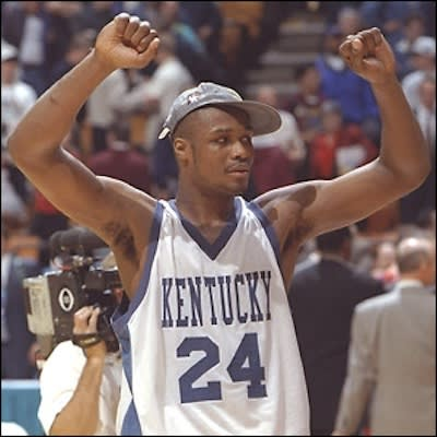 Antoine Walker - A Complete History of Players Who Won Both NCAA and NBA Championships | Complex