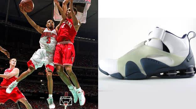 Jaun Dixon in the Nike Shox Stunner
