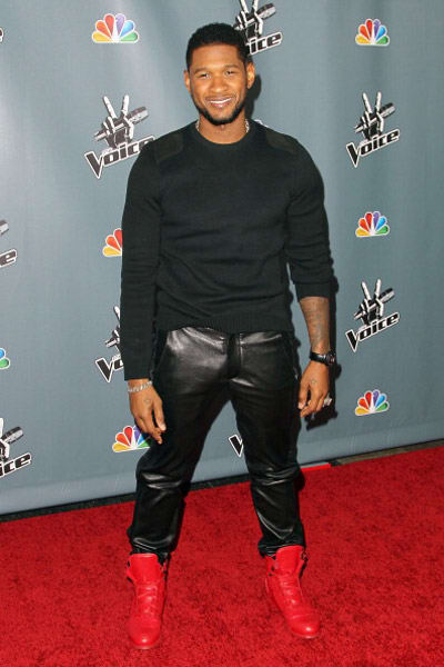 Usher A Recent History Of Celebrities Wearing Leather