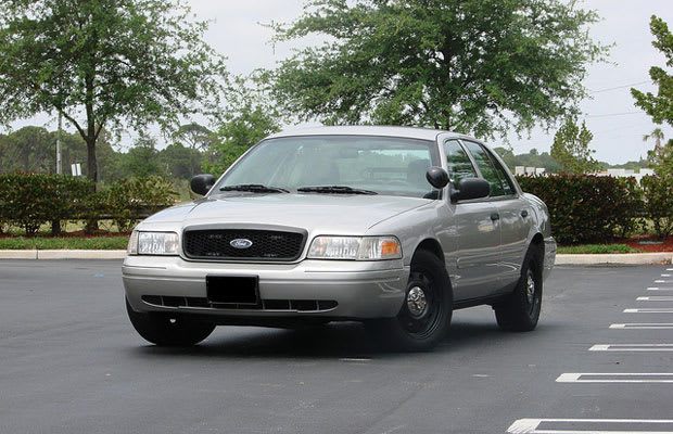 Crown Vic With A Searchlight How To Spot An Unmarked Cop