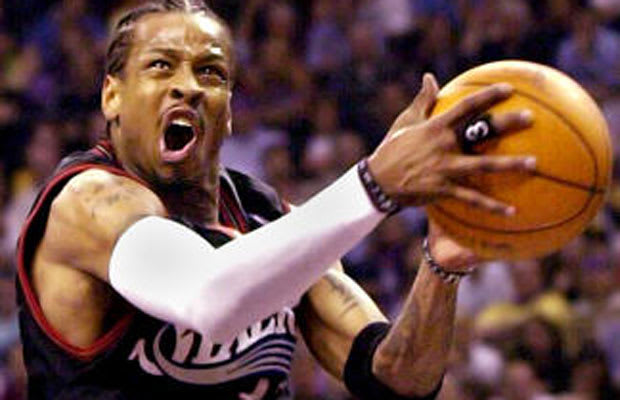Allen Iverson - The 25 Greatest Shooting Guards in NBA ...