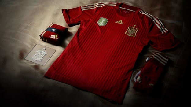 adidas Spain world cup kit 6