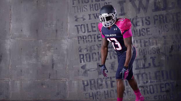 UA Toledo Breast Cancer Awareness Uniforms_1