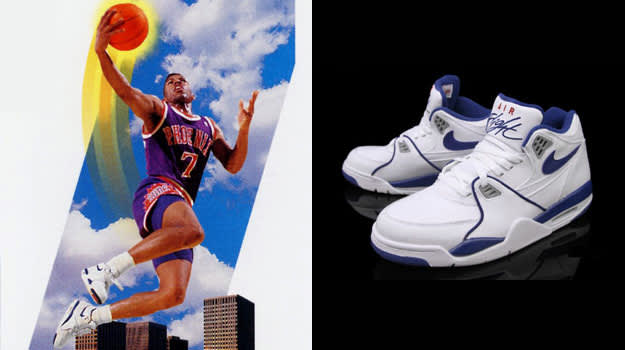 Kevin Johnson in the Nike Air Flight 89