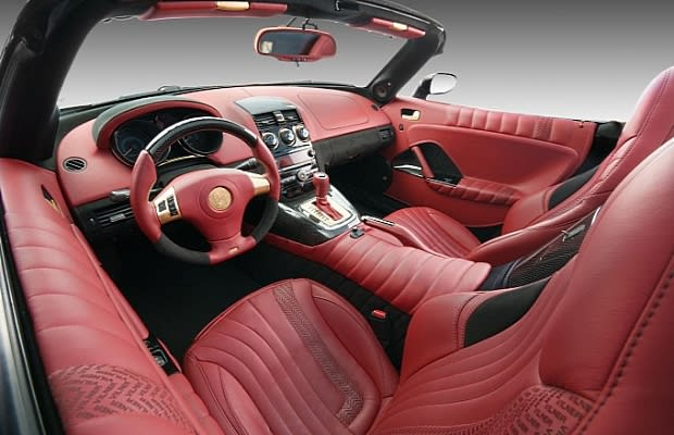 saturn sky the 50 most outrageous custom car interiors complex. Black Bedroom Furniture Sets. Home Design Ideas