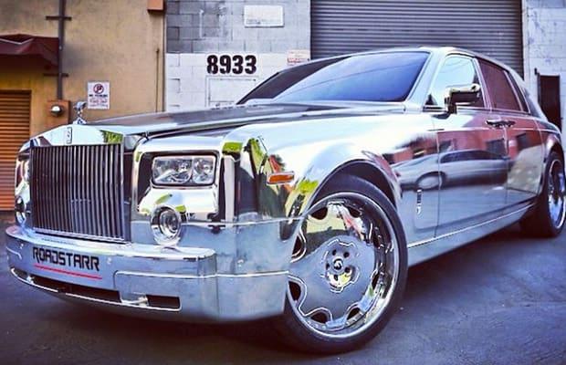 Roadstarr Motorsports Made A Custom Chrome Rolls Royce