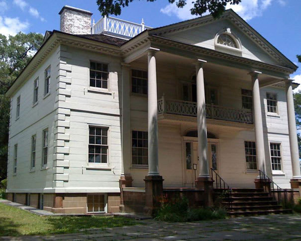Morris jumel mansion the 50 scariest haunted houses in for 65 jumel terrace new york