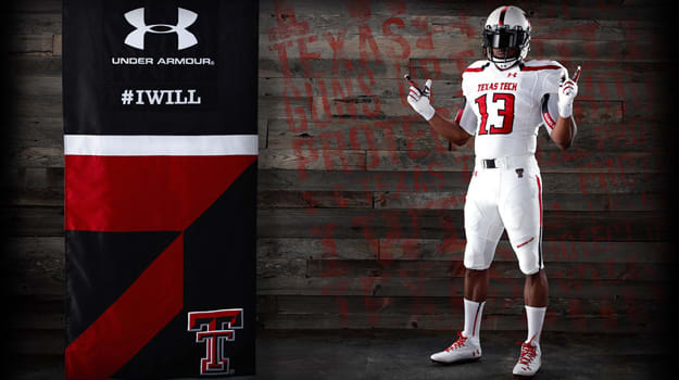 Texas Tech Under Armour Uniforms