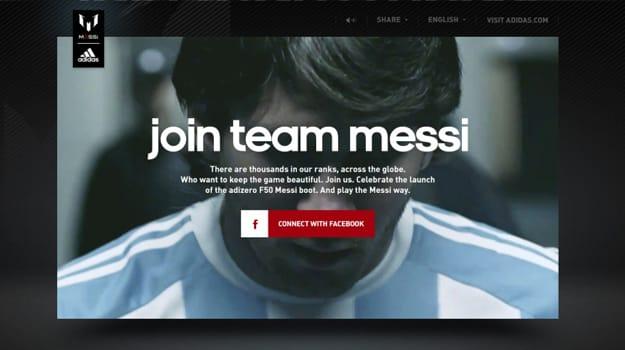 adidas Team Messi Campaign