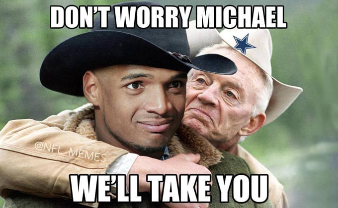 Sams Club Sunday Hours >> Jerry Jones Signs Michael Sam - Gallery: The Funniest Sports Memes of the Week (August 31 ...