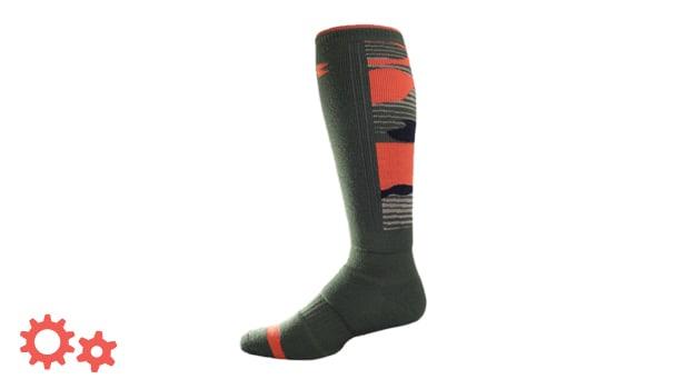 ua camo snowboard socks
