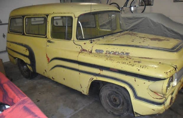 1960 dodge 100 town wagon the 25 worst cars for sale on ebay right now complex. Black Bedroom Furniture Sets. Home Design Ideas