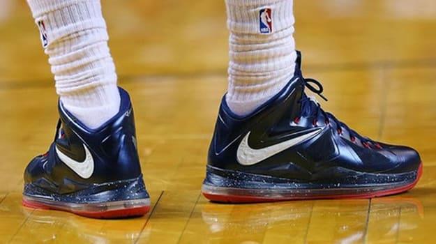 Nike Lebron X Hoops for Troops PE