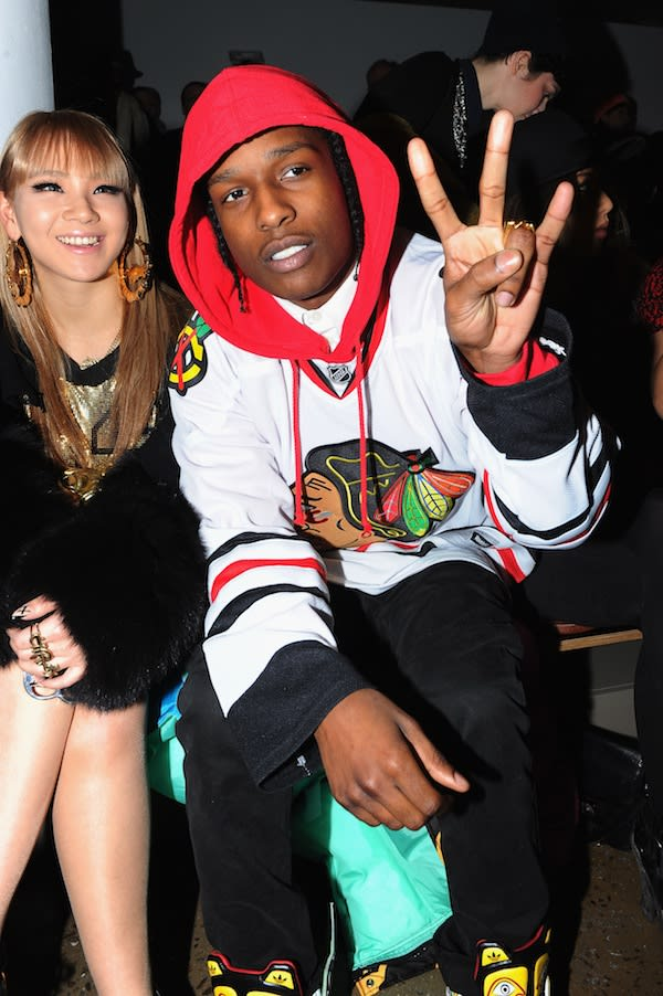 Chicago Blackhawks Jersey - A$AP Rocky's 25 Best Outfits ...