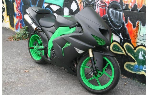Gsxr Custom Paint Jobs: Gallery 25 Crazy Custom Motorcycle