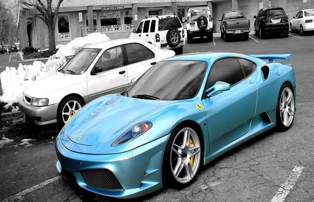 Andrew Bynum 39 S Novitec Ferrari F430 Is For Sale Complex